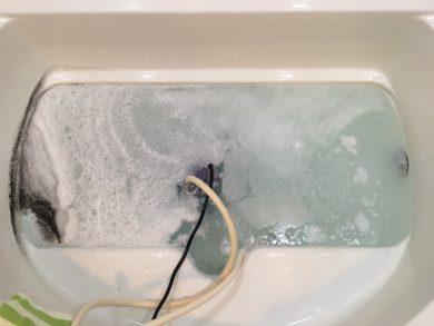 文京区 風呂釜洗浄⑨