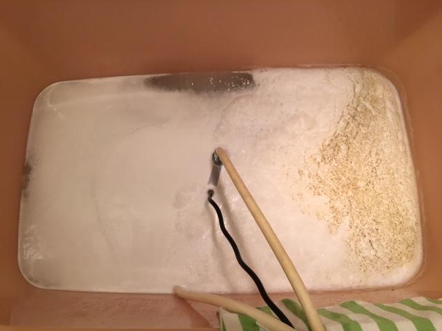 小平市 風呂釜洗浄⑤