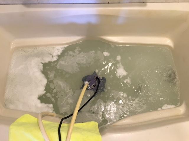 新宿区 風呂釜洗浄⑦