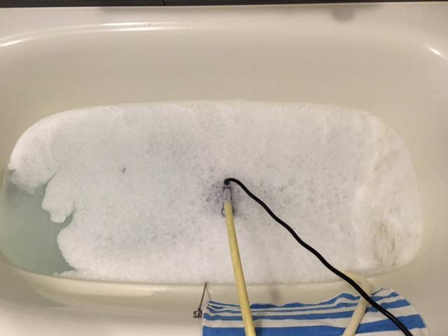 金沢区 風呂釜洗浄⑤