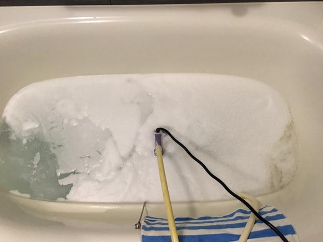 金沢区 風呂釜洗浄⑦