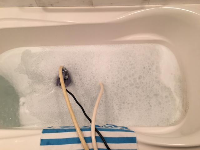 麻生区 風呂釜洗浄③