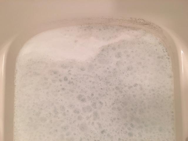 麻生区 風呂釜洗浄④
