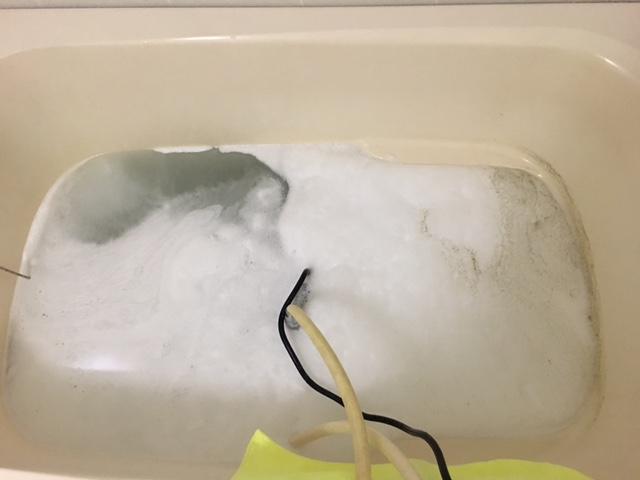 相模原市 風呂釜洗浄⑦