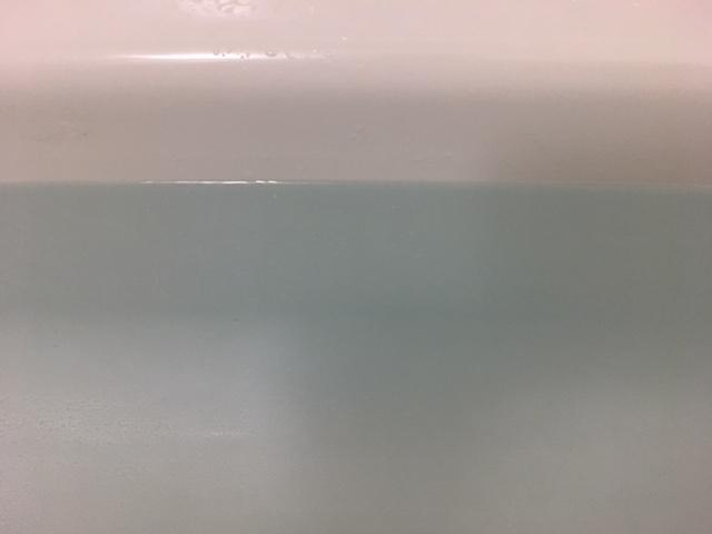 中央区佃 風呂釜洗浄完了②