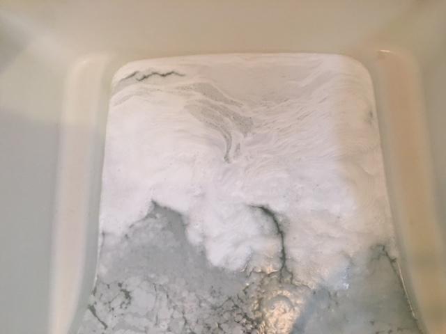 調布市 風呂釜洗浄②