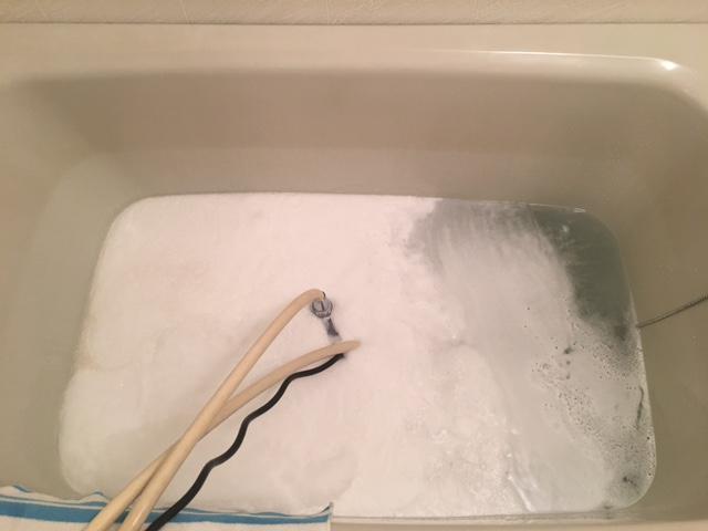 東村山市 風呂釜洗浄⑩