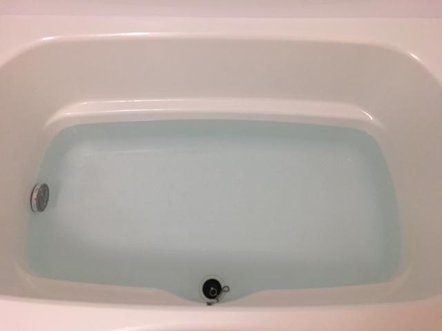 中央区佃 風呂釜洗浄完了①