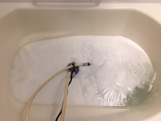 海老名市 風呂釜洗浄⑲