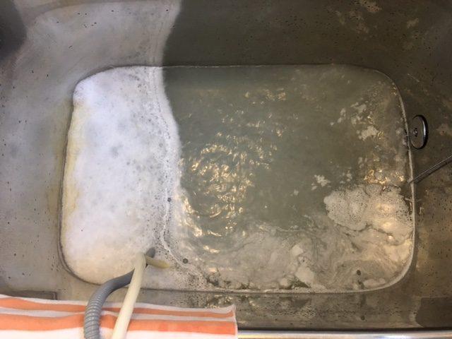 さいたま市南区 風呂釜洗浄④