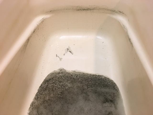 世田谷区野沢 風呂釜洗浄⑨