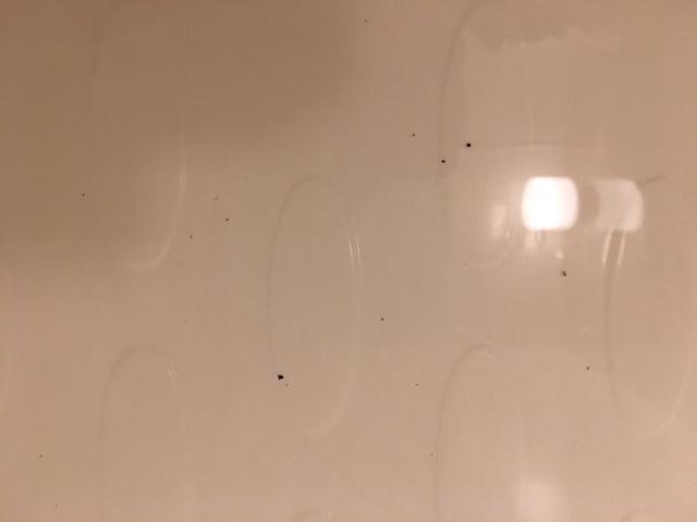 湯張りで黒い汚れが止まらない②