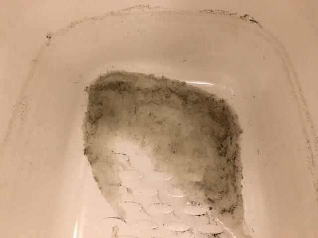 湯張りで黒い汚れが止まらない⑭