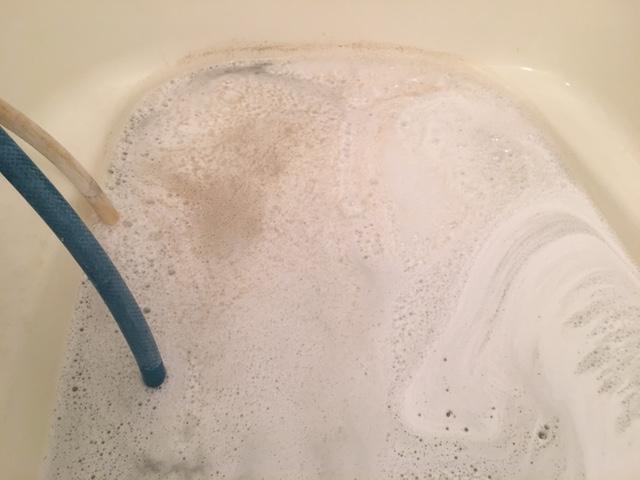湯張りでお湯を入れると、ドブのような臭いがする⑫