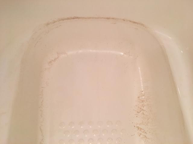 湯張りでお湯を入れると、ドブのような臭いがする⑭