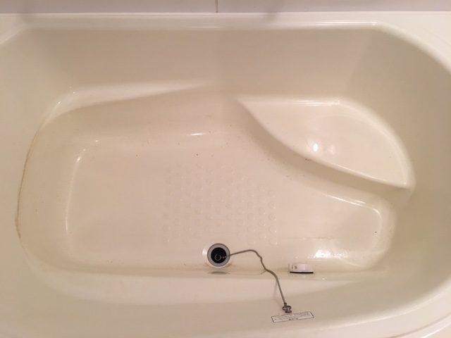 湯張りでお湯を入れると、ドブのような臭いがする⑬
