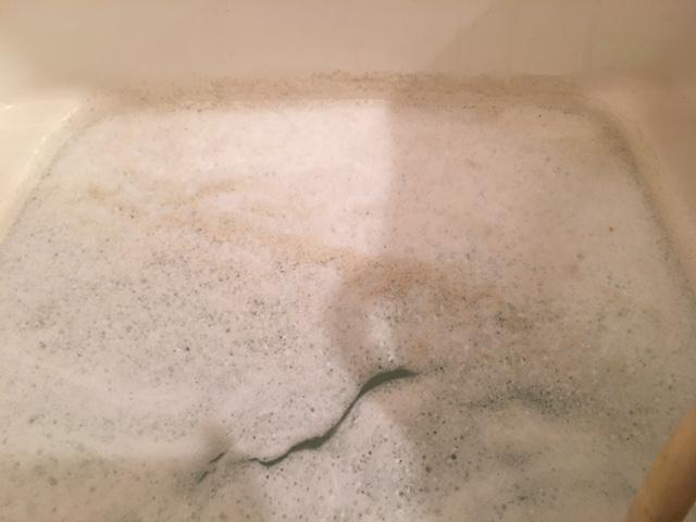 狛江市 風呂釜洗浄⑧