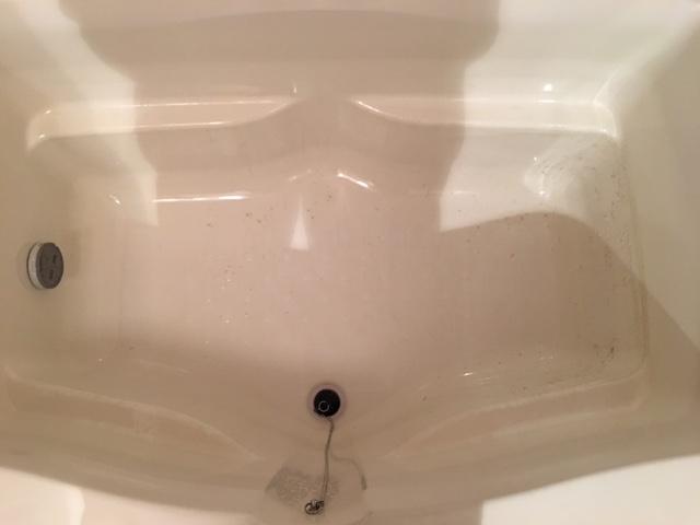 狛江市 風呂釜洗浄⑨