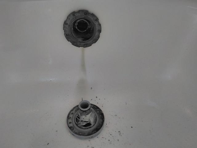 品川区 追い焚き配管洗浄②