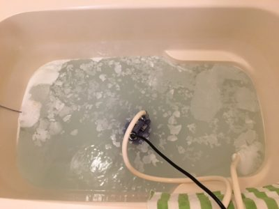 松戸市 風呂釜洗浄⑨