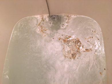 大田区久が原 風呂釜洗浄⑦