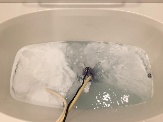品川区 風呂釜洗浄①
