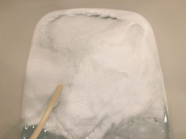 品川区 風呂釜洗浄②