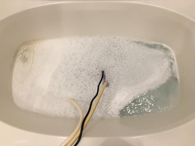 品川区 風呂釜洗浄③