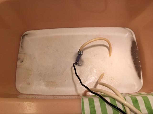 小平市  風呂釜洗浄①
