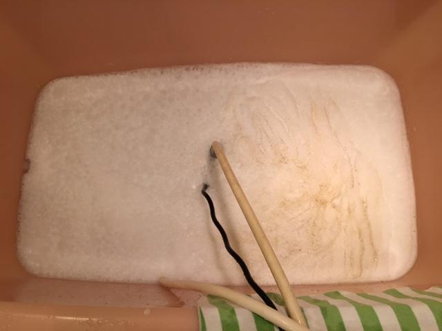 小平市 風呂釜洗浄③