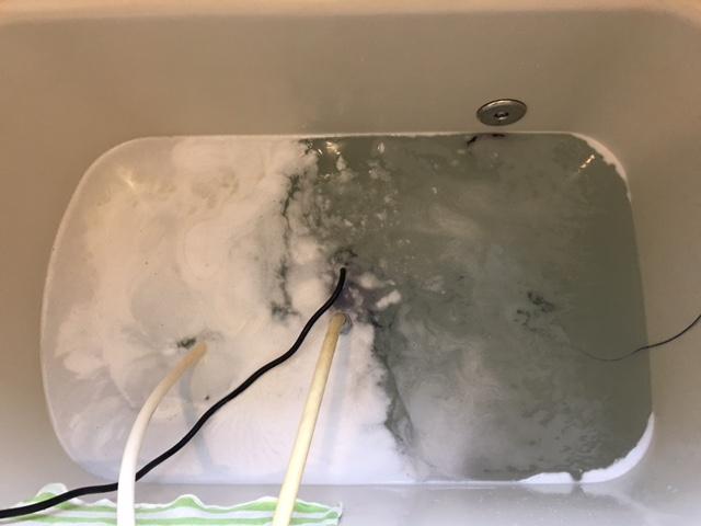 戸塚区 風呂釜洗浄④