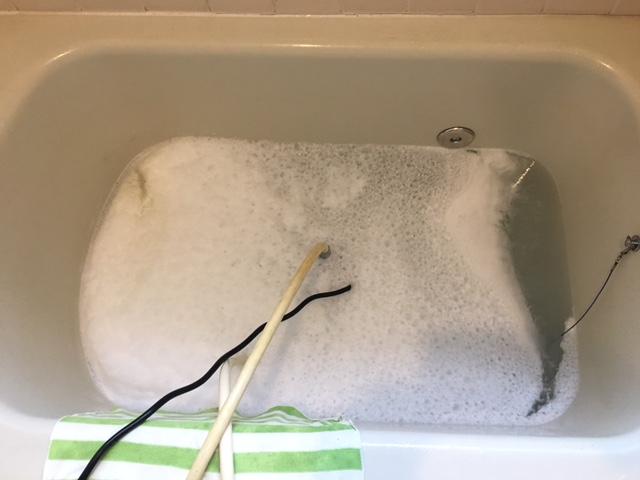 戸塚区 風呂釜洗浄⑩