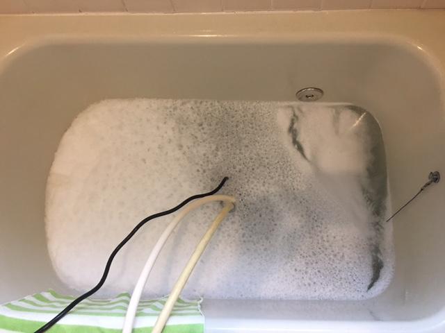 戸塚区 風呂釜洗浄⑭