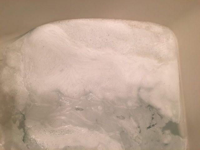 江東区 風呂釜洗浄②