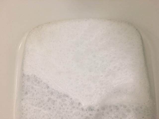中央区佃 風呂釜洗浄⑥
