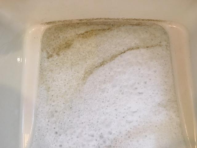 調布市 風呂釜洗浄④