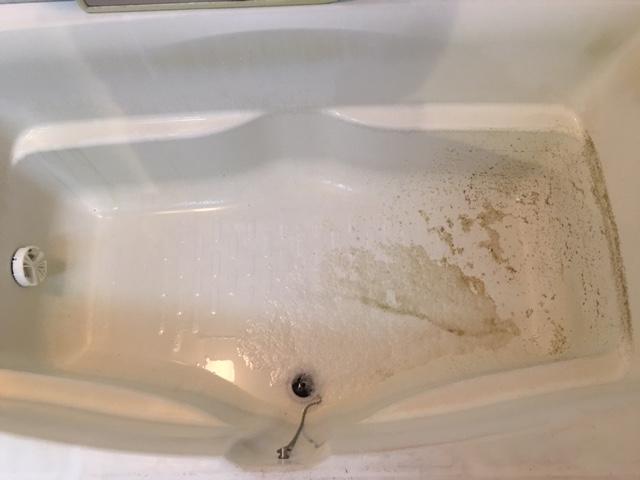 調布市 風呂釜洗浄⑤