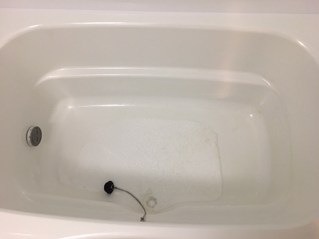 中央区佃 風呂釜洗浄排水①