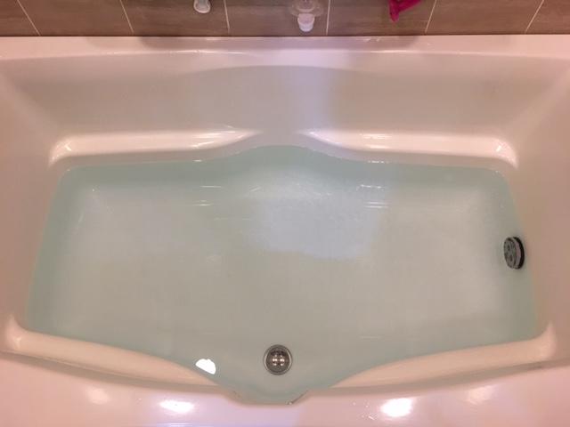 新宿区 風呂釜洗浄 完了①