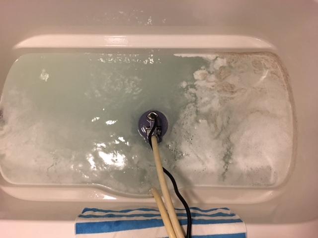千代田区猿楽町 風呂釜洗浄⑥