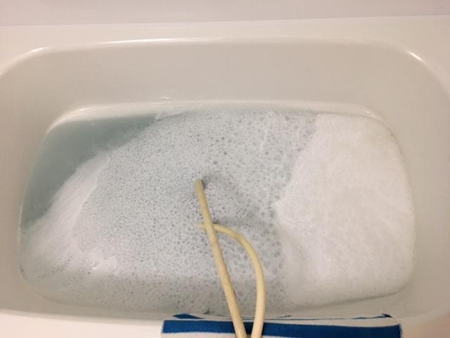 中央区佃 風呂釜洗浄⑤