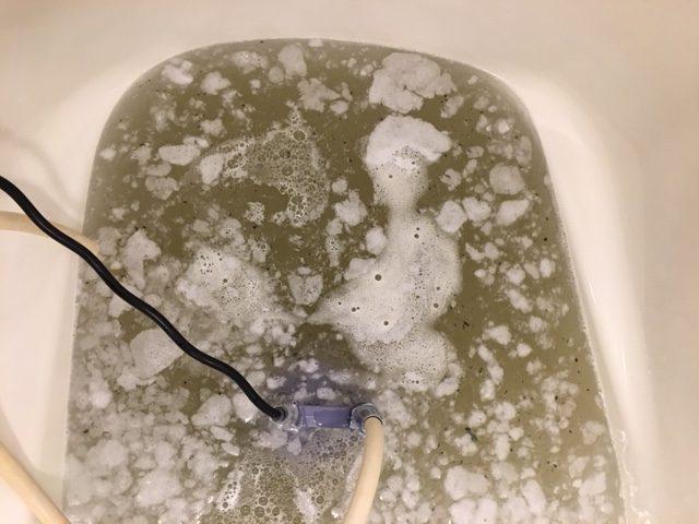 海老名市 風呂釜洗浄⑦