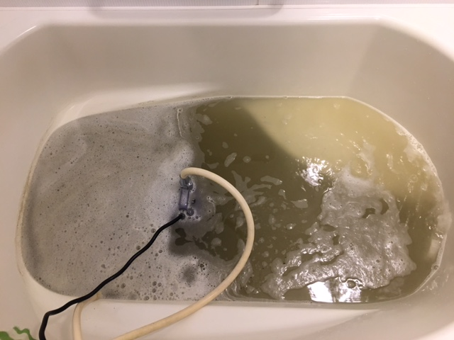 海老名市 風呂釜洗浄⑧
