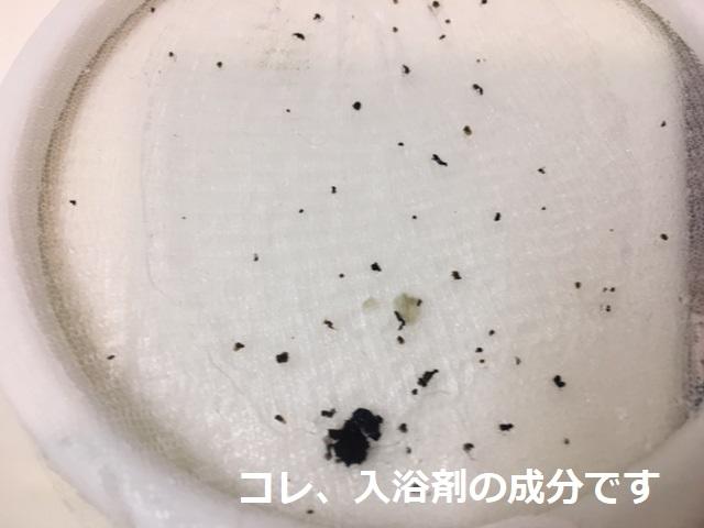 世田谷区野沢 風呂釜洗浄②