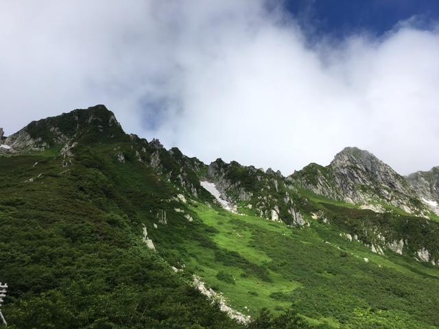山行 木曽駒ケ岳①