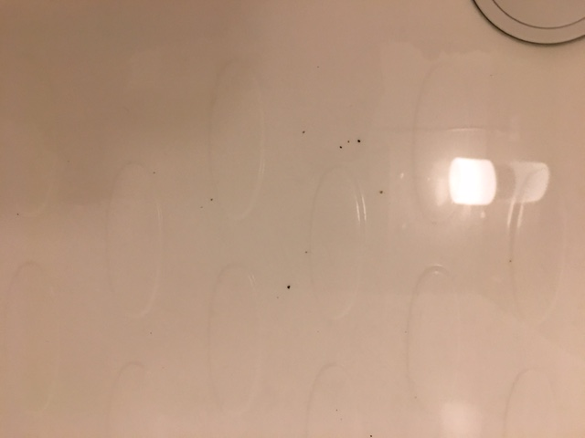 湯張りで黒い汚れが止まらない①