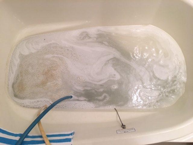 湯張りでお湯を入れると、ドブのような臭いがする⑪