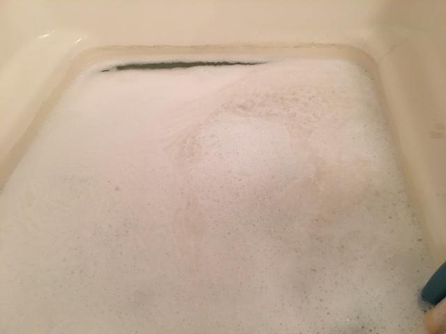 藤沢市 風呂釜追い焚き配管洗浄⑫