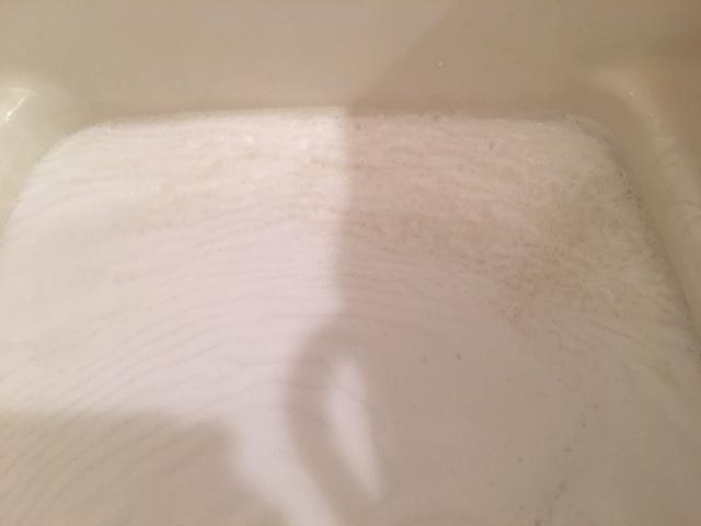 狛江市 風呂釜洗浄⑥