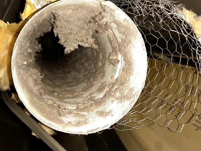 世田谷区瀬田 衣類乾燥機の排気ダクト清掃